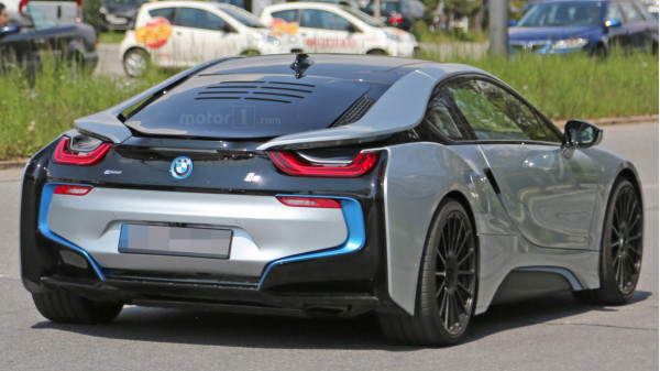 BMWu0027s New I8 Spotted In Germany