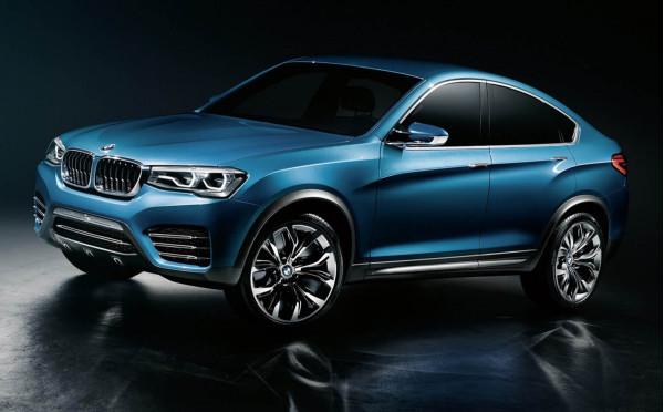 BMW reveals first impressions of the X4 Concept | CarTrade.com