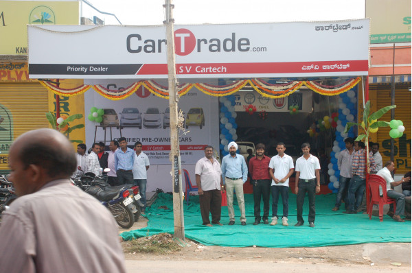 CarTrade.com launches its twelfth used car Franchisee Store in India .