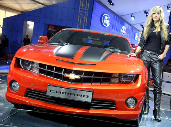 Auto Expo 2012 refresh: Chevrolet's impressive three section show  .