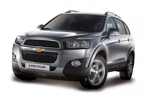 A glance at the all-new Chevrolet Captiva 2.2 Automatic Transmission   CarTrade.com