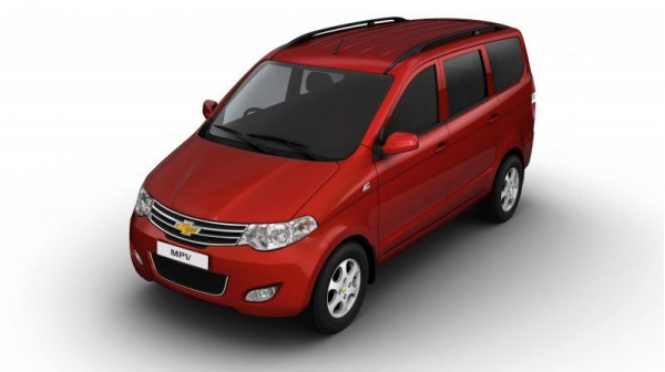 General Motors India developing its Chevy Enjoy MPV to challenge the market dominance of Ertiga and Innova next year | CarTrade.com