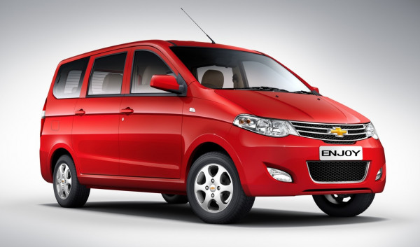 General Motors positive about the success of Chevrolet Enjoy in India | CarTrade.com
