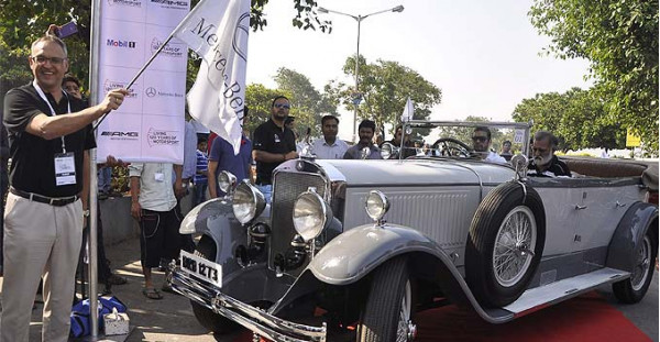 Classic Car Rally Event In Mumbai by Mercedes Benz India | CarTrade.com