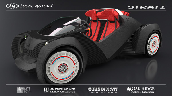 Coming Soon: Strati the 3D Printed Electric car from Local Motors | CarTrade.com