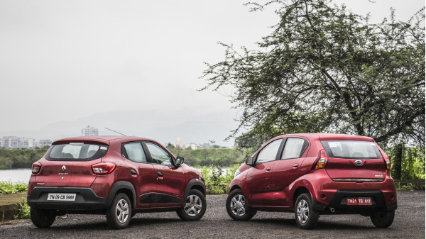 Datsun Redigo vs Renault Kwid: Comparison Test