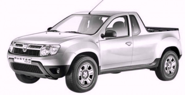 renault officially unveils pickup variant of duster cartrade. Black Bedroom Furniture Sets. Home Design Ideas