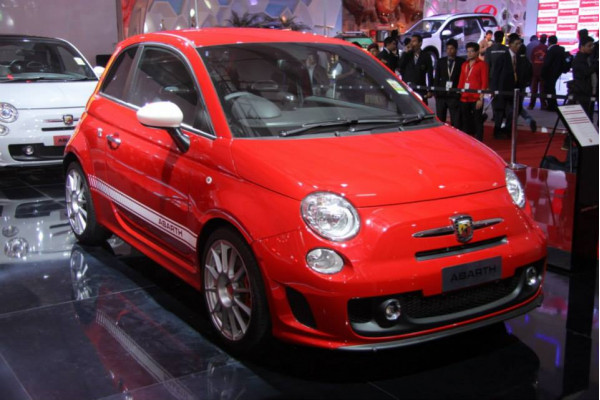 Fiat Abarth 500 to be assembled locally in India   CarTrade.com