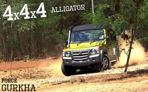 Force Gurkha: The Alligator - CarTrade