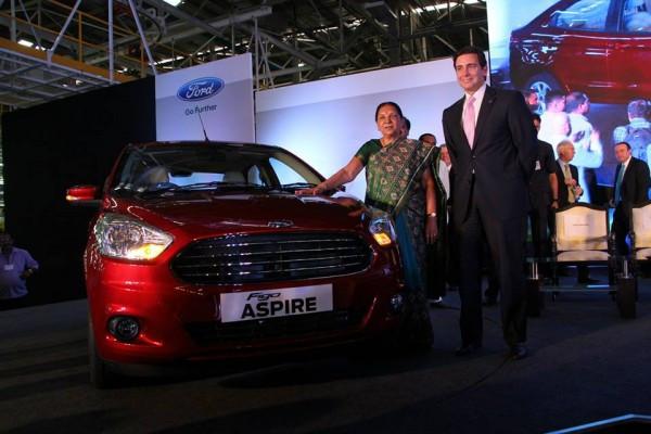 Ford Figo Aspire compact sedan officially unveiled | CarTrade.com