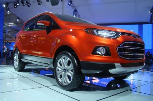 Ford EcoSport to pump Ford