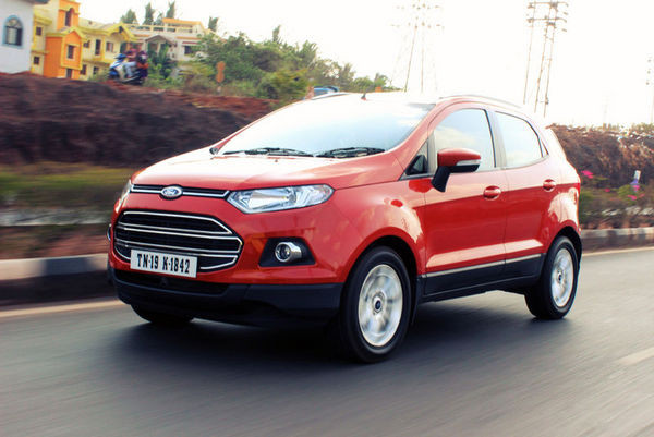 Bookings of Ford EcoSport diesel stopped   CarTrade.com
