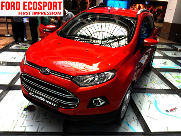Ford EcoSport : First Impression - CarTrade