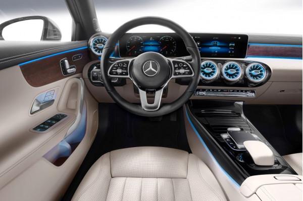 Mercedes-Benz reveals 2019 A-Class sedan