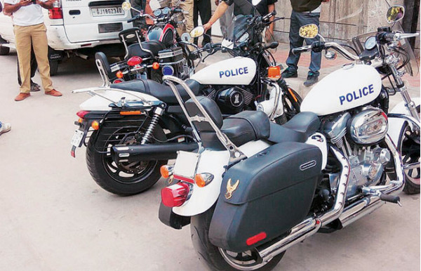 Gujarat Police likely to get Harley Davidson as part of 20 international superbikes | CarTrade.com