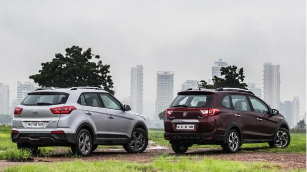 Honda BR-V petrol automatic vs Hyundai Creta petrol automatic comparison