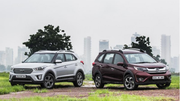 Honda BR-V petrol automatic vs Hyundai Creta petrol automatic comparison6