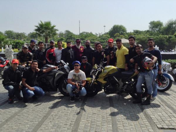 Honda organises Big Bike Weekend with Black Pistons Super Bikers Club | CarTrade.com