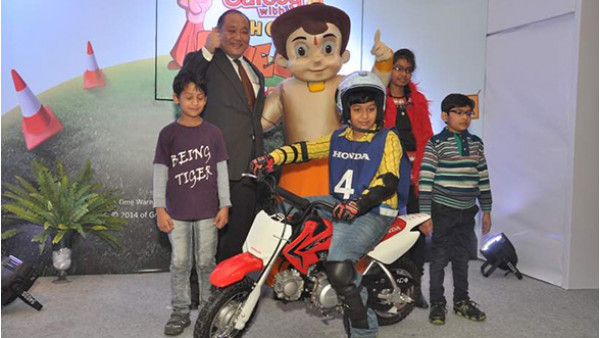 Honda promotes road safety among children with