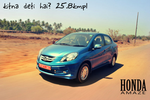 2013 Honda Amaze launches in India on 11th April, claims a mileage of 25.8kmpl | CarTrade.com