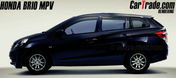 Upcoming Honda Brio Amaze MPV to compete with the Maruti Ertiga | CarTrade.com
