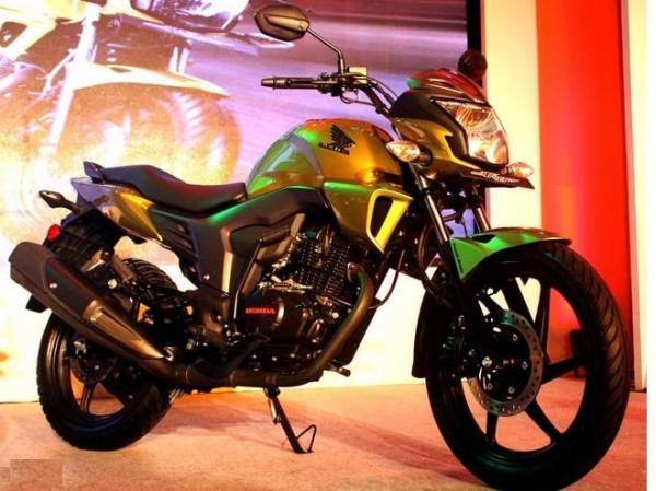 Honda showcases its new 150 cc CB Trigger bike for Indian market   CarTrade.com
