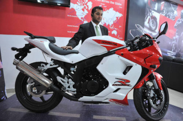 Hyosung GT 250R Limited Edition to be launched today   CarTrade.com