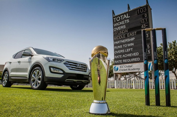 Hyundai kicks off Trophy Tour for the 2013 ICC Champions Trophy in New Delhi | CarTrade.com