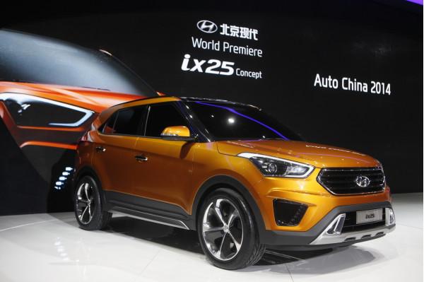 Hyundai reveals ix25 compact SUV at 2014 Beijing International Motor Show | CarTrade.com