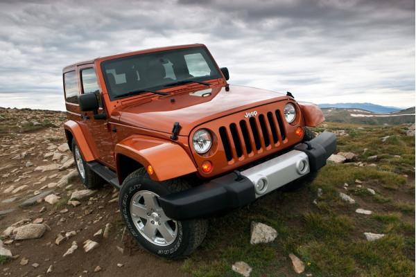 Jeep Wrangler and Cherokee