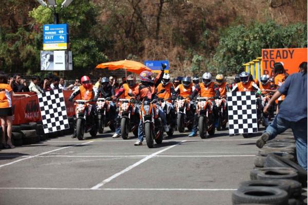 KTM to organise Orange Day in Mumbai on February 28   CarTrade.com