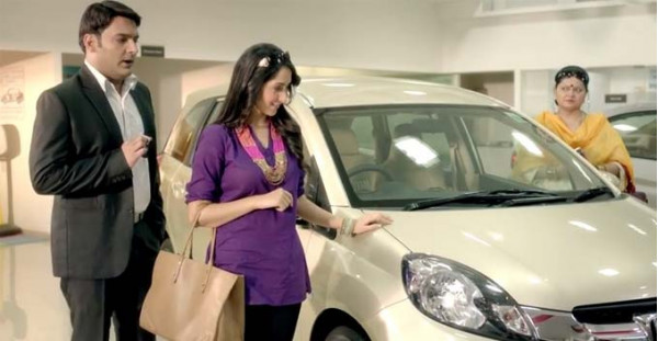 Kapil Sharma features as a salesman in Honda Mobilio advertisement | CarTrade.com