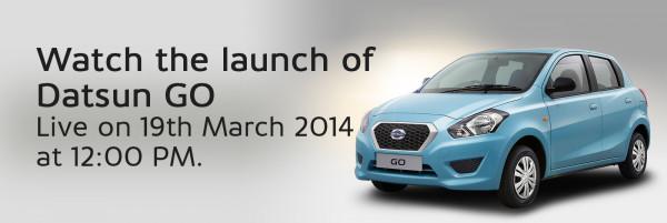 Live Webcast: Datsun Go launching today | CarTrade.com