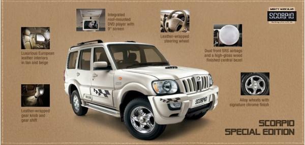 Mahindra Scorpio Special Edition likely to soon hit Indian auto market | CarTrade.com