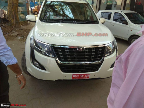 Mahindra XUV500 facelift to be launched in India tomorrow | CarTrade.com