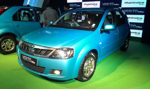 Mahindra Verito Vibe launched in Bangalore   CarTrade.com