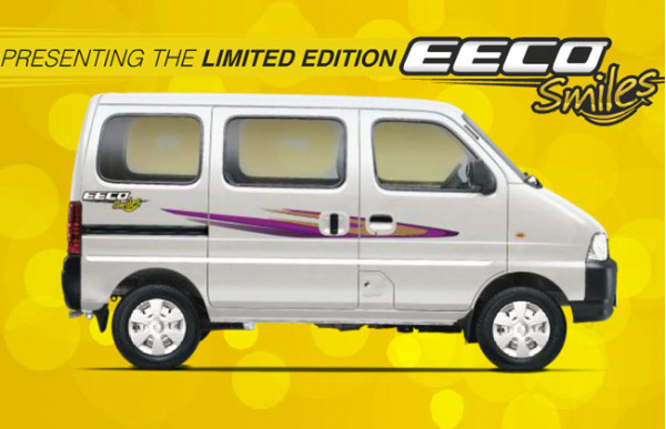 Maruti Suzuki launches limited edition Eeco Smiles | CarTrade.com