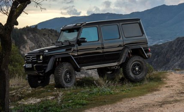 Get ready to go off-road with the new 2015 Mercedes G500 4x4 | CarTrade.com
