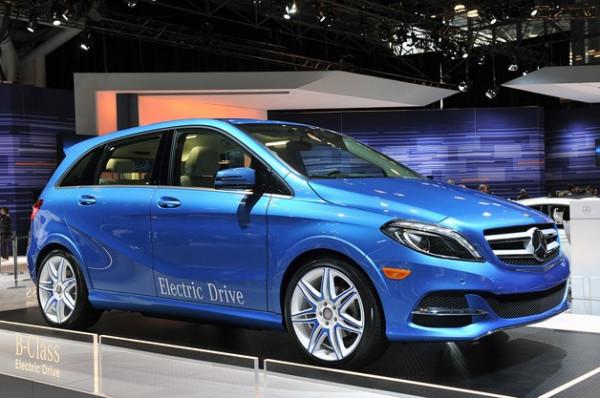Mercedes-Benz unveils the B-Class Electric Drive at 2013 New York Motor Show   CarTrade.com