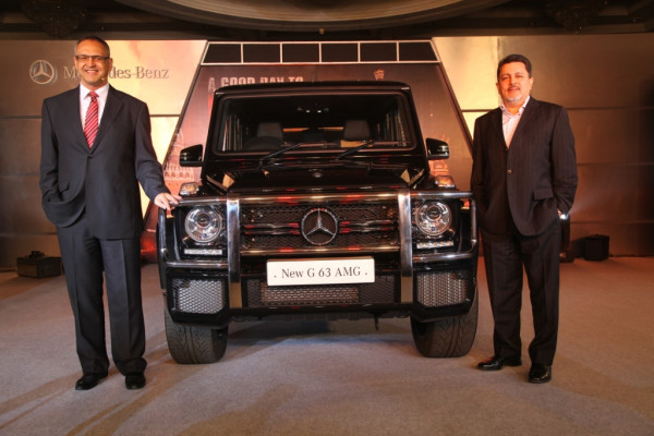 Mercedes-Benz pulls off the curtains from new G63 AMG in India | CarTrade.com