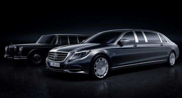 Mercedes showcases the dream sedan - Maybach Pullman | CarTrade.com