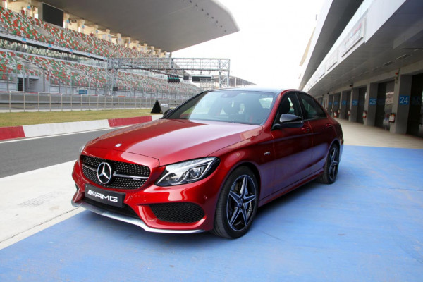 Mercedes-AMG C 43 Track Review - CarTrade