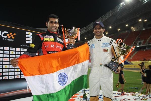 Narain Karthikeyan and Karun Chandhok sign up for Race of Champions | CarTrade.com