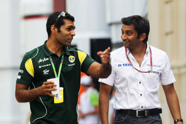 Narain Karthikeyan and Karun Chandhok create history, to compete with Vettel and Schumacher  | CarTrade.com