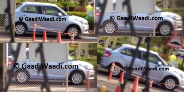New Maruti Suzuki Swift Dzire spotted inside Manesar plant | CarTrade.com