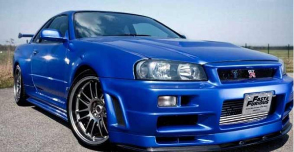 Nissan Skyline GT-R R34 driven by Paul Walker in Fast and Furious 4 is up for sale | CarTrade.com