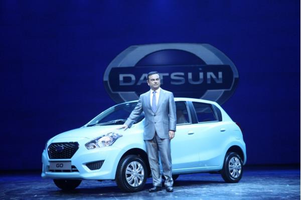 Nissan showcases the Datsun