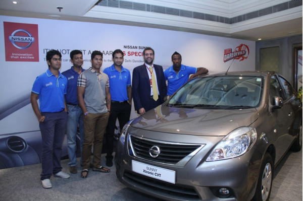 Nissan Motor India partners with IPL team Delhi Daredevils | CarTrade.com