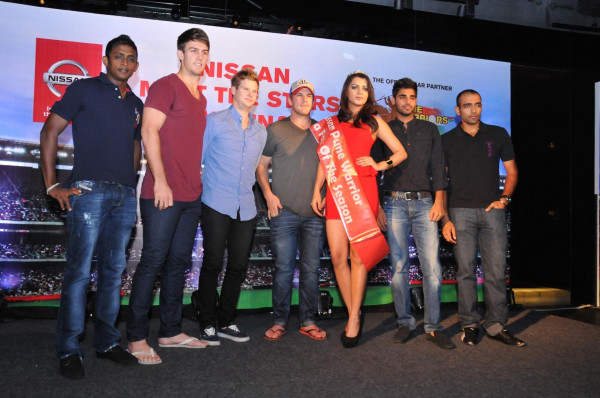 Nissan organises IPL Meet & Greet event for Pune Warriors India | CarTrade.com