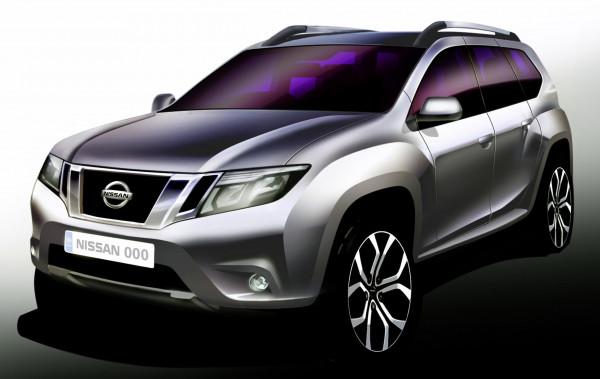 First impression of Nissan Terrano SUV revealed | CarTrade.com